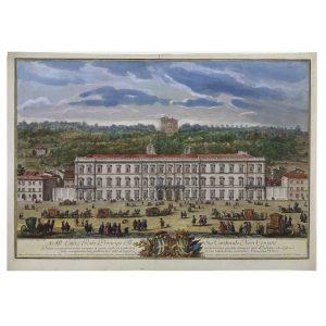 prospetto di palazzo corsini giuseppe vasi 1751