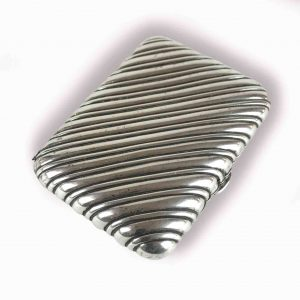 portasigarette in argento antico