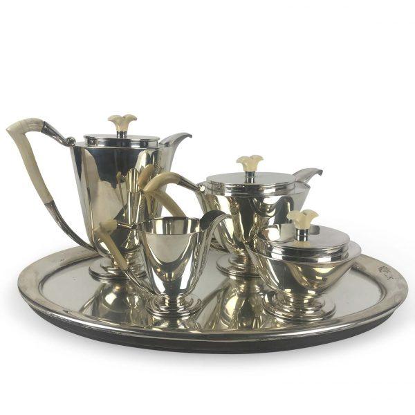 Servizio da Té e Caffé in Argento Miracoli