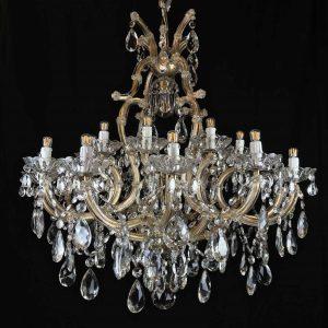 lampadario da sala maria teresa 21 luci c