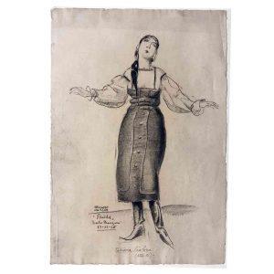 Mario Vellani Marchi Tatiana Pawlova 1926