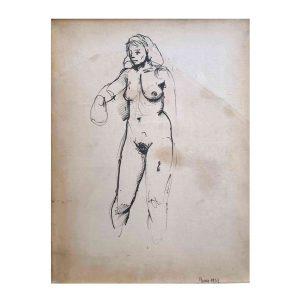 Renato-Guttuso-Nudo-di-Donna-