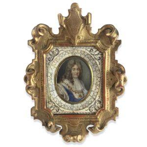 Ritratto di Aristocratico Francese