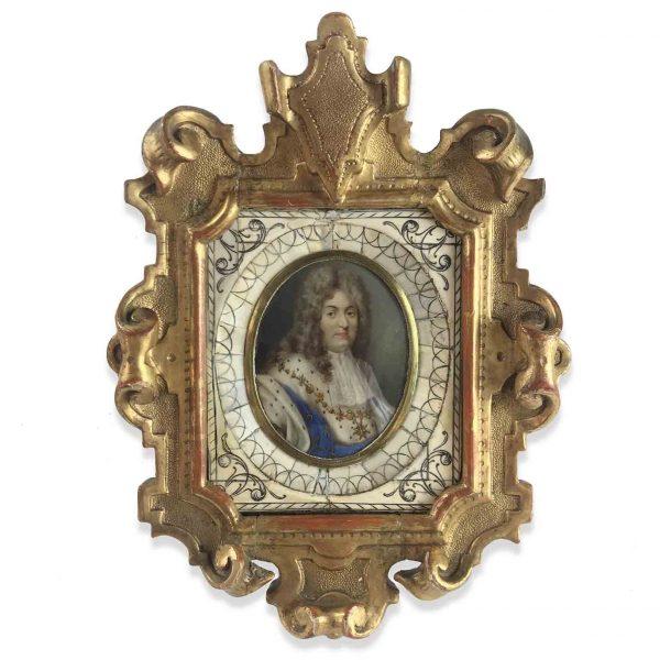 Miniatura con Ritratto di Filippo d'Orléans