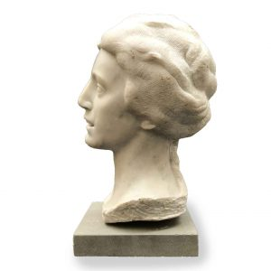 bossi aurelio busto in marmo