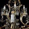 lampadario da soggiorno in cristallo antico n