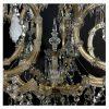 lampadario da soggiorno in cristallo antico r