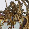 lanterna in bronzo dorato con vetri decorati qc