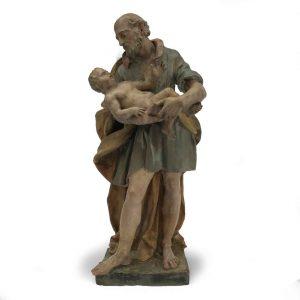 san-giuseppe-con-bambino-in-terracotta