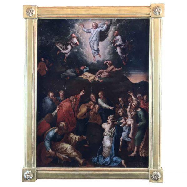 Nicolò Cercignani detto il Pomarancio la Trasfigurazione