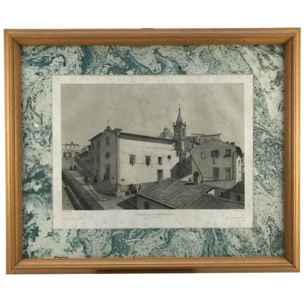 André Durand la Chiesa della Misericordia a Portoferraio 1862