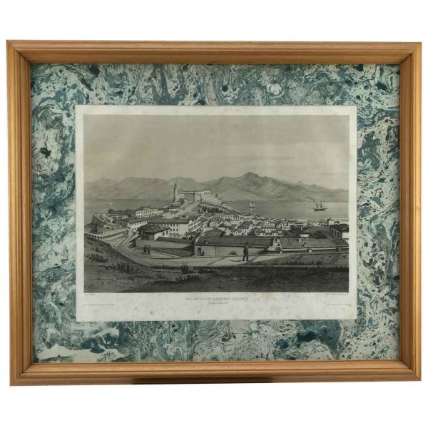 Vista Generale di Porto Ferraio vista da Forte Falcone