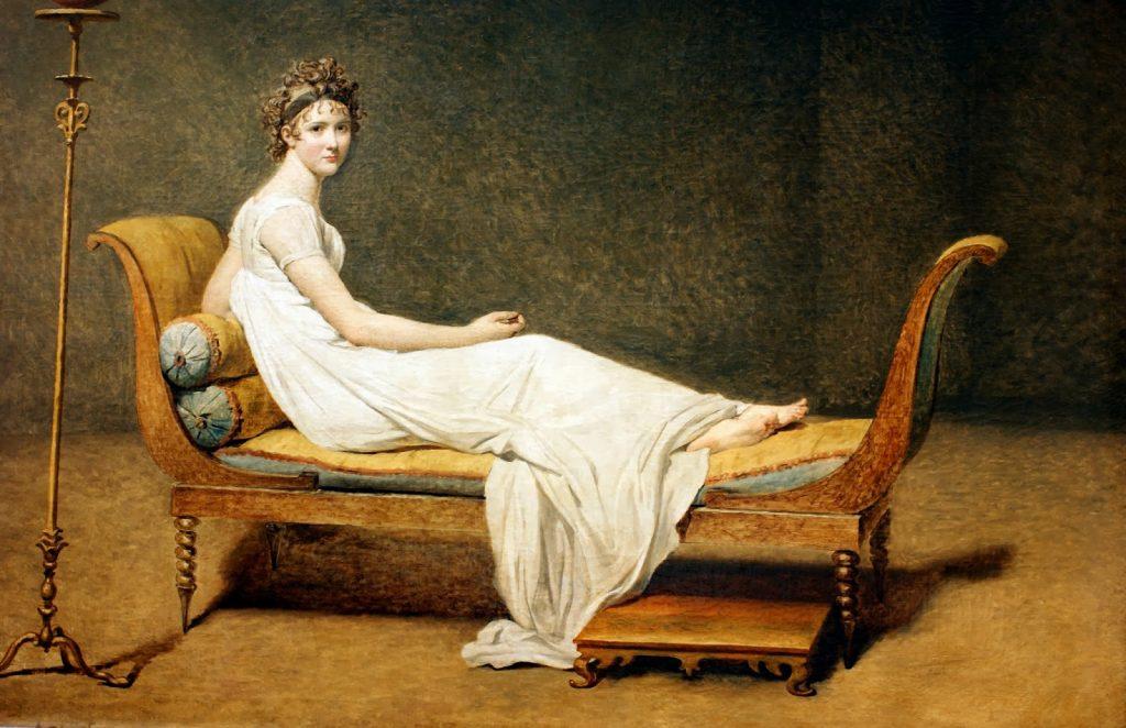 Madame Récamier Jacques Louis David