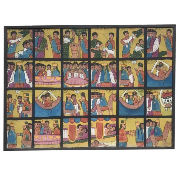 Pittura Etiope degli Anni Trenta