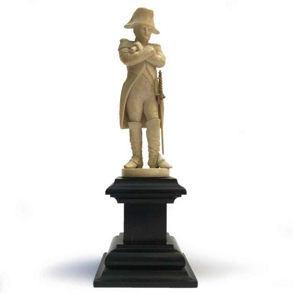 Antique Napoleon Bonaparte Ivory Sculpture