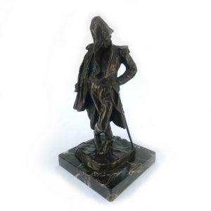 scultura in bronzo del maresciallo ney di giuseppe grandi 1930