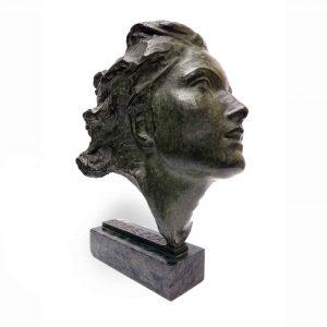 scultura-in-bronzo-anni-quaranta-a-patina-verde
