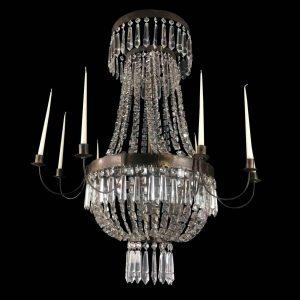 lampadario-a-mongolfiera-in-ottone-e-cristallo-stile-impero