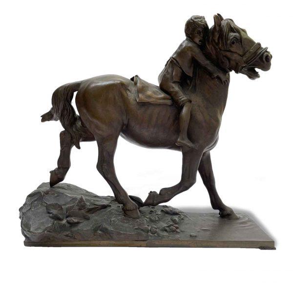 Berndorf, Fanciullo a Cavallo